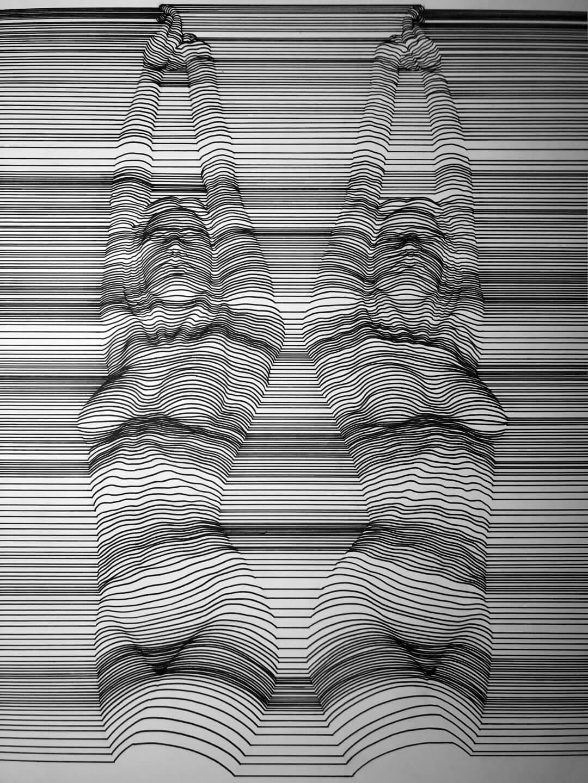Galerie Benjamin Eck München Staedtler pigment 1.0 Linework technique