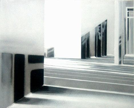 Galerie Benjamin Eck München Acryl auf Leinwand