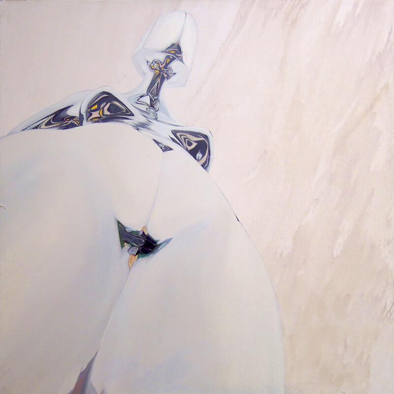 Galerie Benjamin Eck München Öl und Acryl auf Leinwand