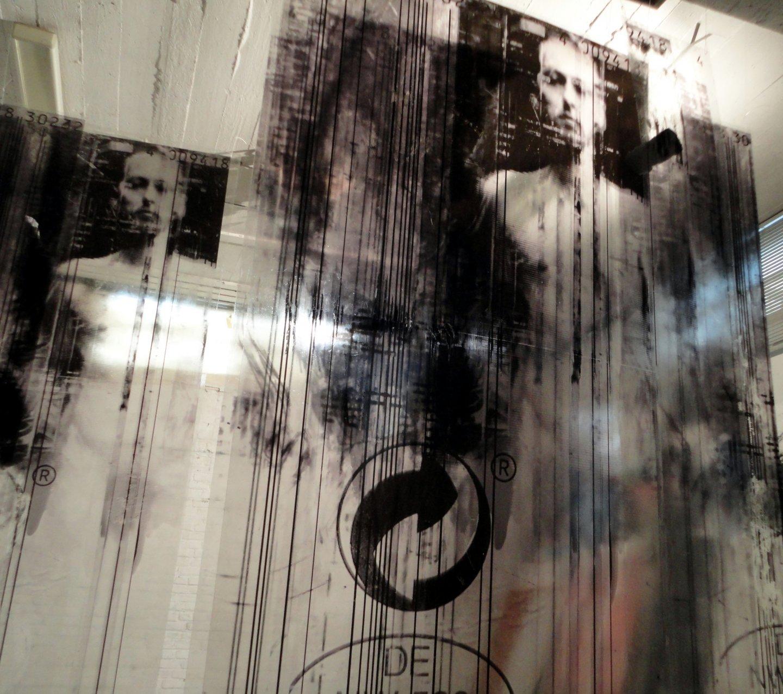 Galerie Benjamin Eck München Fototechnik auf Polycarbonat, Acrylfarbe
