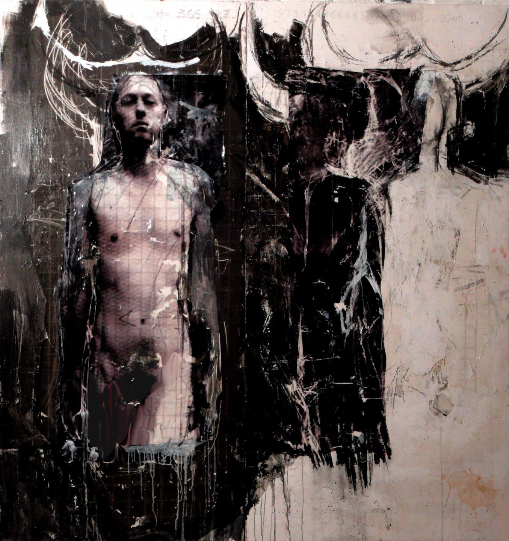 Galerie Benjamin Eck München Fototechnik, Öl, Acryl
