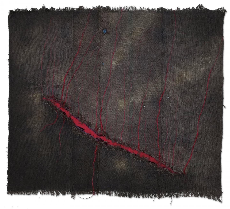 Galerie Benjamin Eck München JUTE, VELVET, LATEX