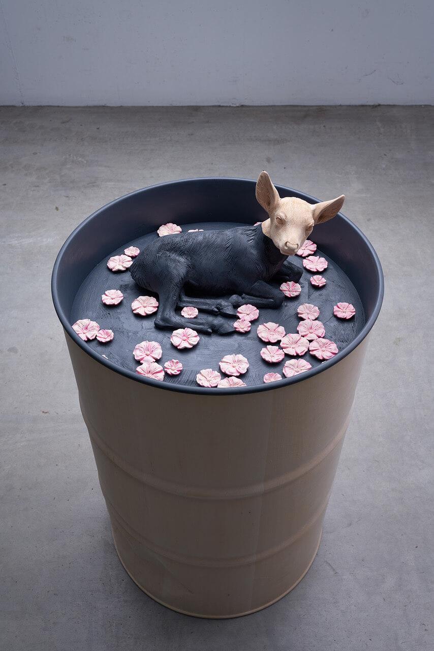 Galerie Benjamin Eck München Linde, Acryl