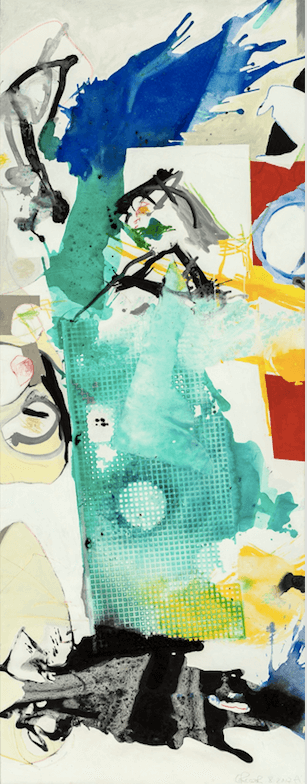 Galerie Benjamin Eck München Oil and acrylic on canvas