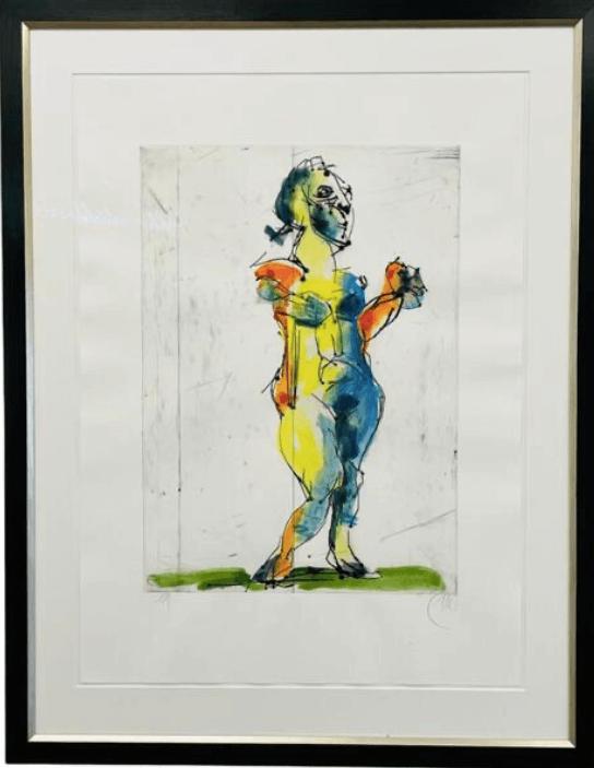 Galerie Benjamin Eck München Gouache