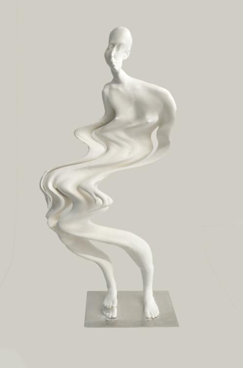 Galerie Benjamin Eck München PLA, epoxi resin, calcium carbonate