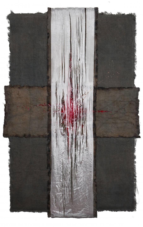 Galerie Benjamin Eck München JUTE, SILK, LATEX
