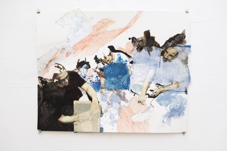 Galerie Benjamin Eck München Mixed Media on paper