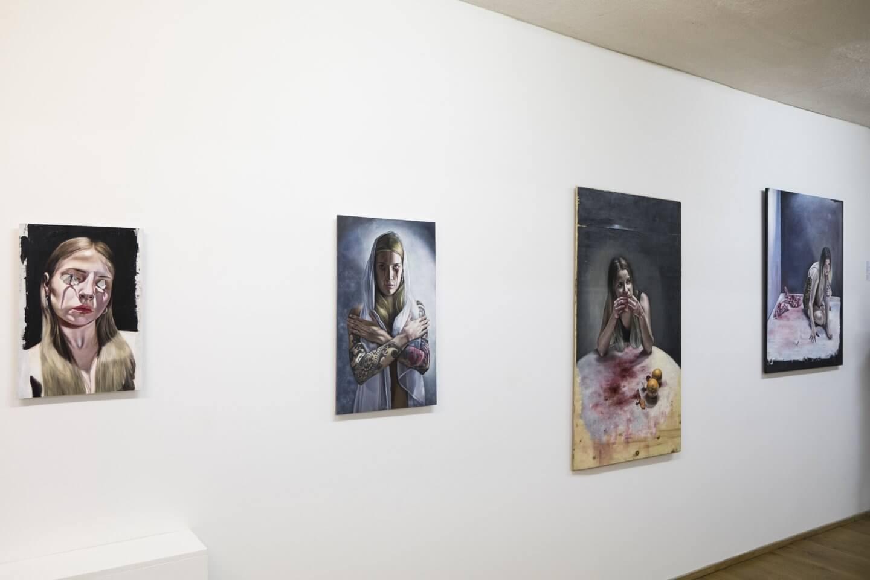 Galerie Benjamin Eck München Juliette Nicaise