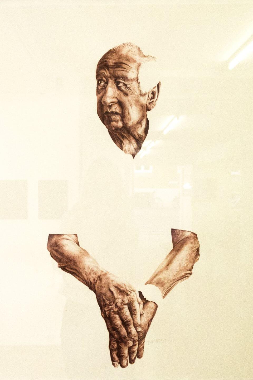 Galerie Benjamin Eck München Aquarelle on paper