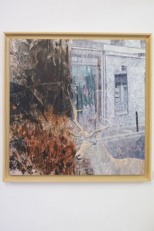 Galerie Benjamin Eck München Oil on linen