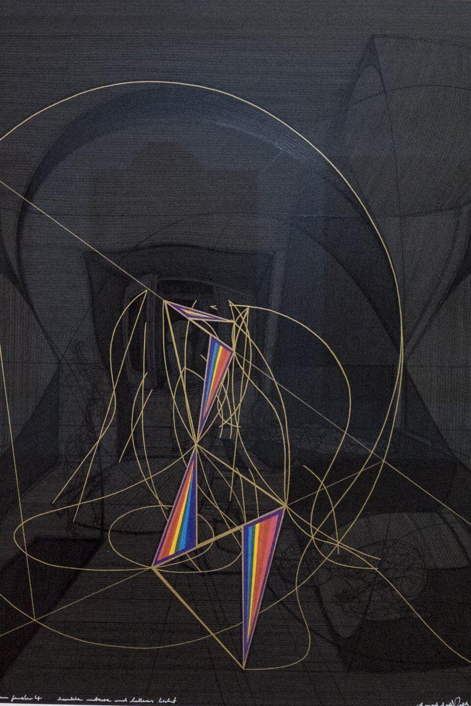 Galerie Benjamin Eck München Paint stick on paper