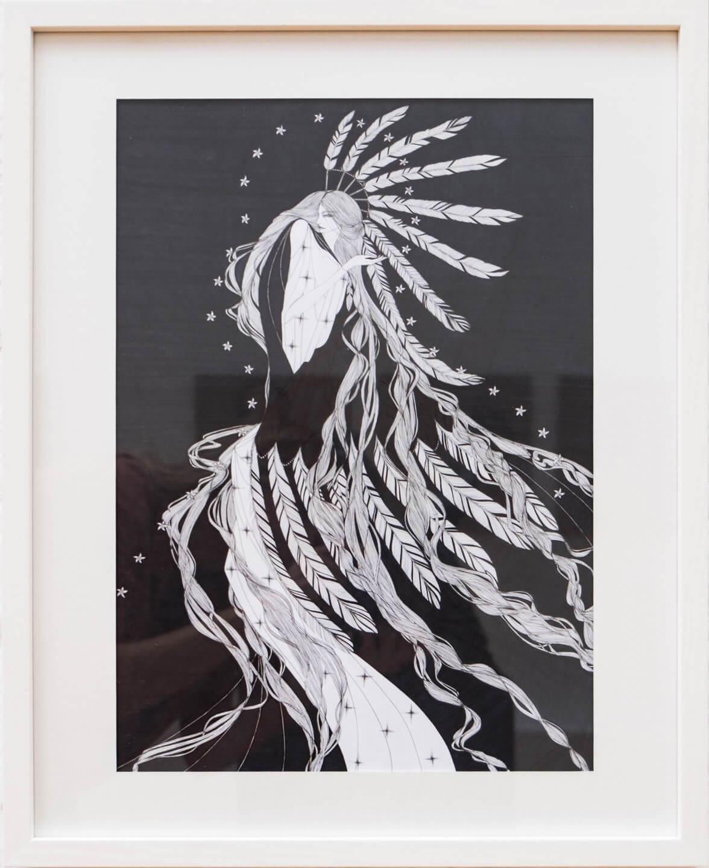 Galerie Benjamin Eck München ink on paper