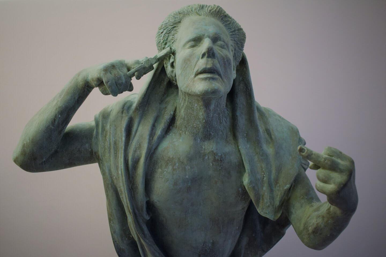 Galerie Benjamin Eck München Cold cast bronze