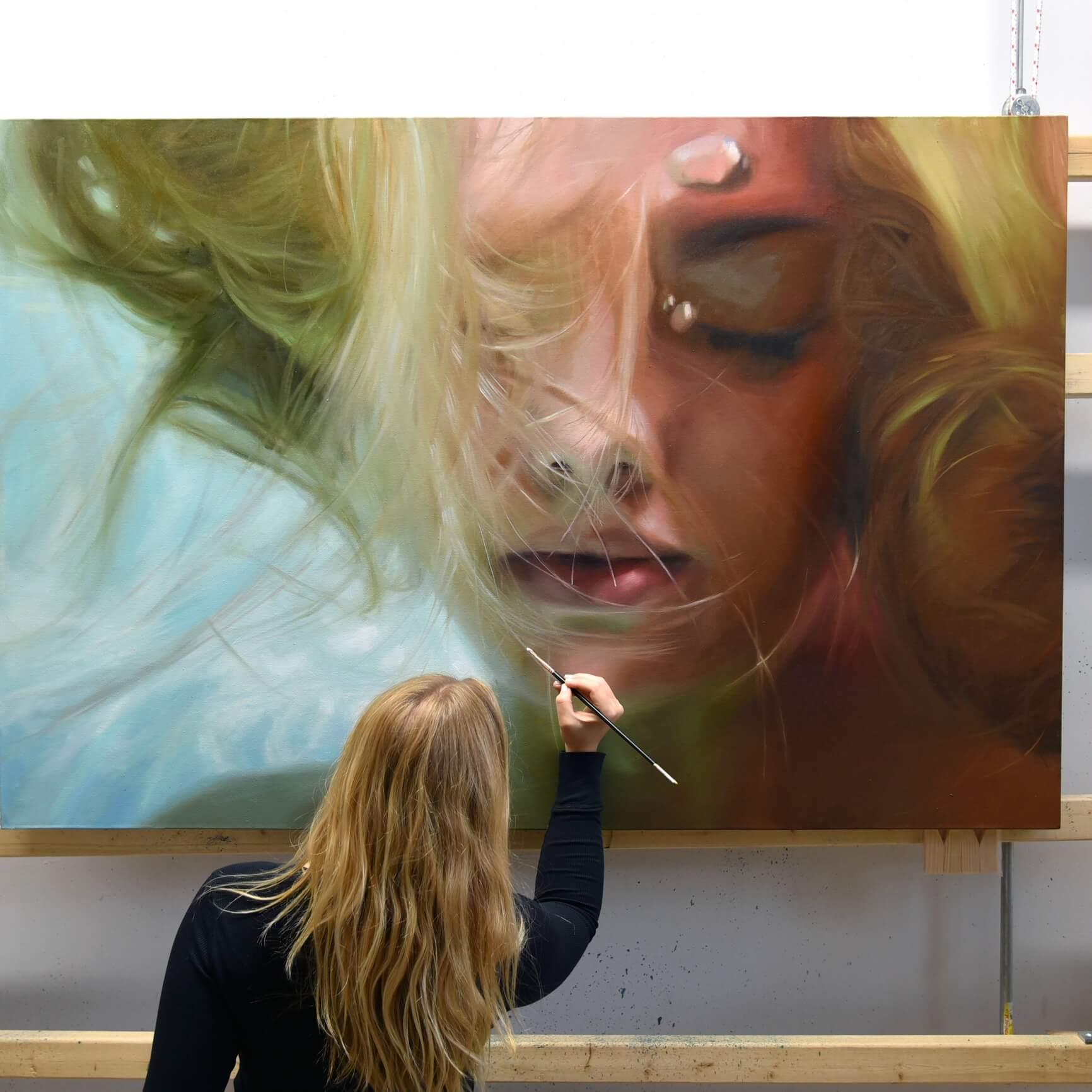 Purple Paint Colors >> Reisha Perlmutter // Galerie Benjamin Eck München
