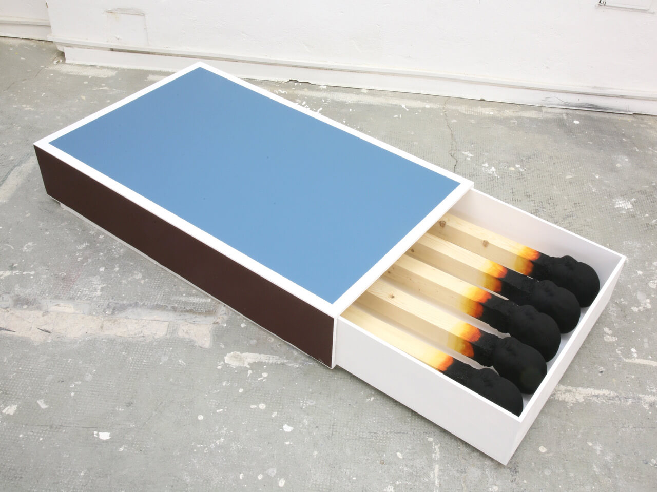 Galerie Benjamin Eck München wood, poyurethane, paint