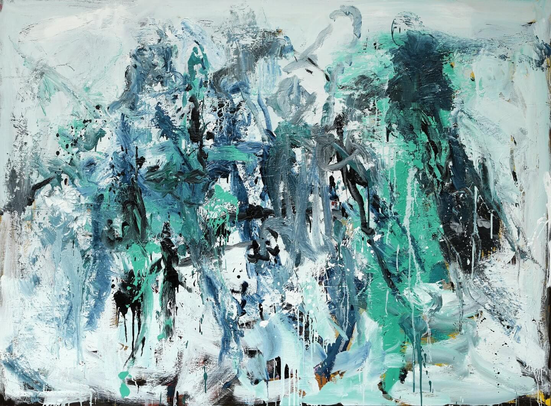 Galerie Benjamin Eck München Oil on canvas 140x190-cm