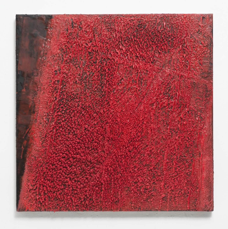 Galerie Benjamin Eck München Paraffin on canvas