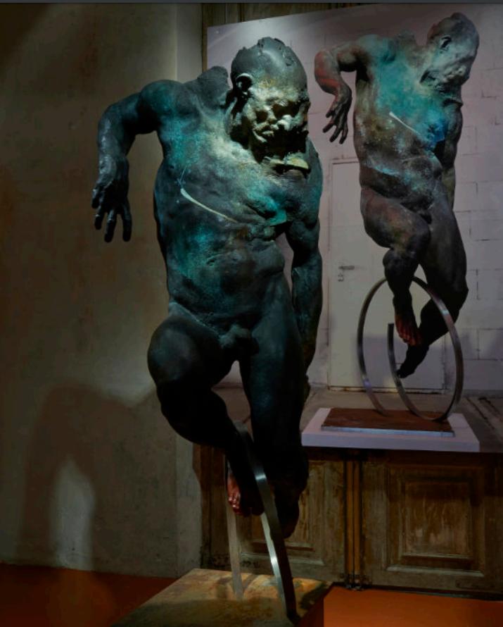 Galerie Benjamin Eck München Bronze, Stahl