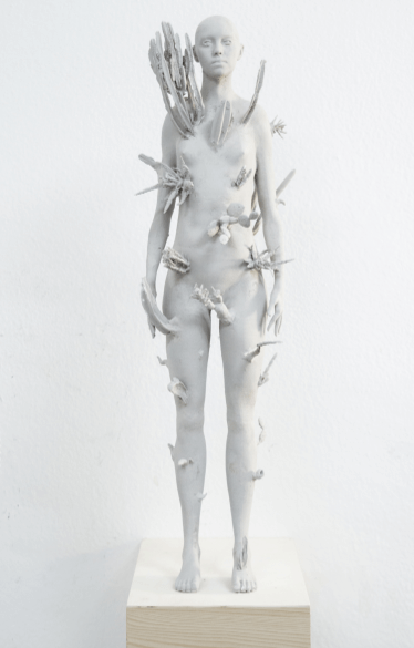 Galerie Benjamin Eck München PLA, Keramikputz enamel