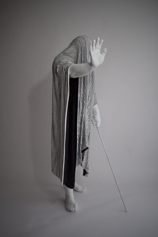 Galerie Benjamin Eck München Resin/Fibreglass cast with acrylic paint
