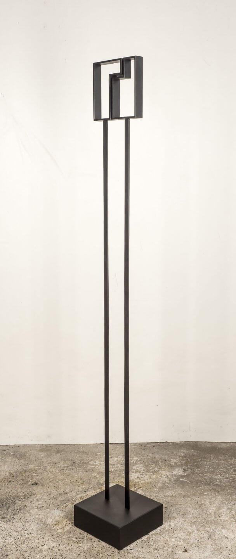 Galerie Benjamin Eck München Steel, Surface galvanized, primed, painted