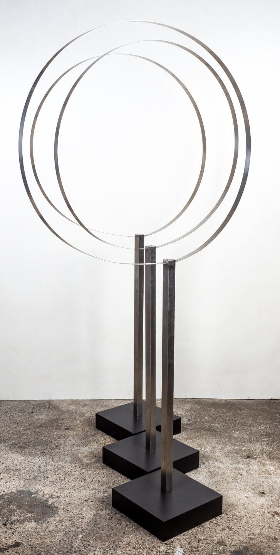 Galerie Benjamin Eck München Stainless steel/Steel, varnished