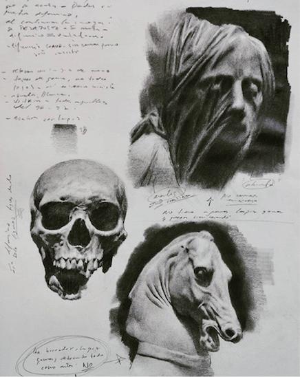 Galerie Benjamin Eck München Graphit auf Papier