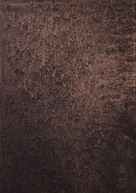 Galerie Benjamin Eck München Kupferdraht auf Leinwand
