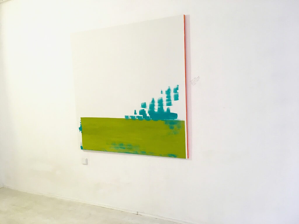 Galerie Benjamin Eck München Acrylic on canvasl