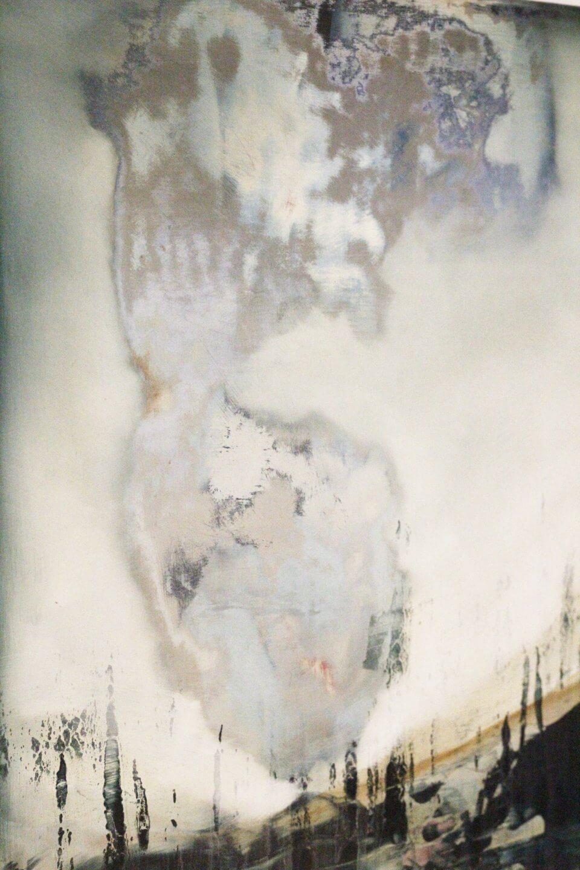Galerie Benjamin Eck München JOACHIM VAN DER VLUGT 'Opal flowers', oil on canvas, 40cm x 40cm, 2017
