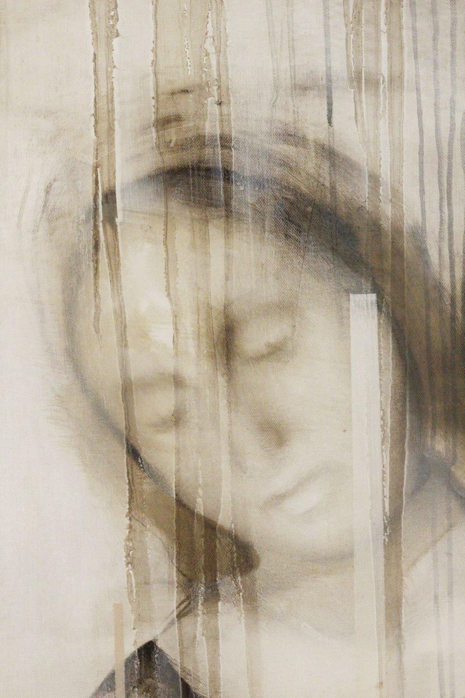 Galerie Benjamin Eck München JOACHIM VAN DER VLUGT 'Harvest Queen II', oil on canvas, 190cm x 140cm, 2016