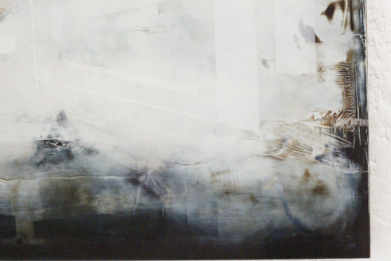 Galerie Benjamin Eck München JOACHIM VAN DER VLUGT 'Chasing butterflies', oil on canvas, 60cm x 100cm, 2016