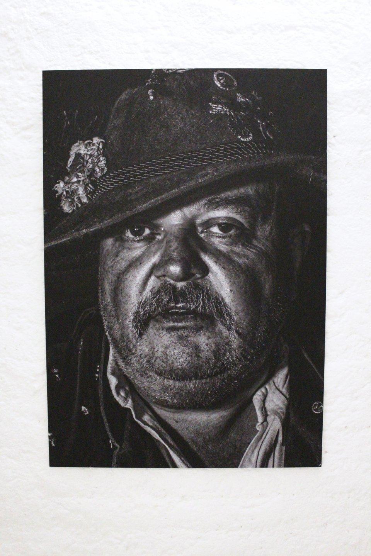 Galerie Benjamin Eck München FELIX SCHMEIDL 'Bavarian? Original! (6)', foil print on Alu-Dibond, 70cm x 100cm, 2016