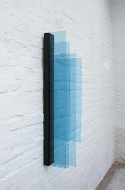Galerie Benjamin Eck München Glass auf Sperrholz