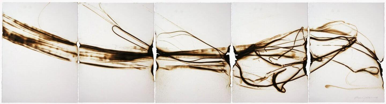 Galerie Benjamin Eck München Glaspyrographie auf Papier
