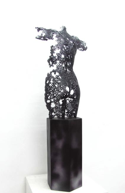 Galerie Benjamin Eck München Galvanized steel