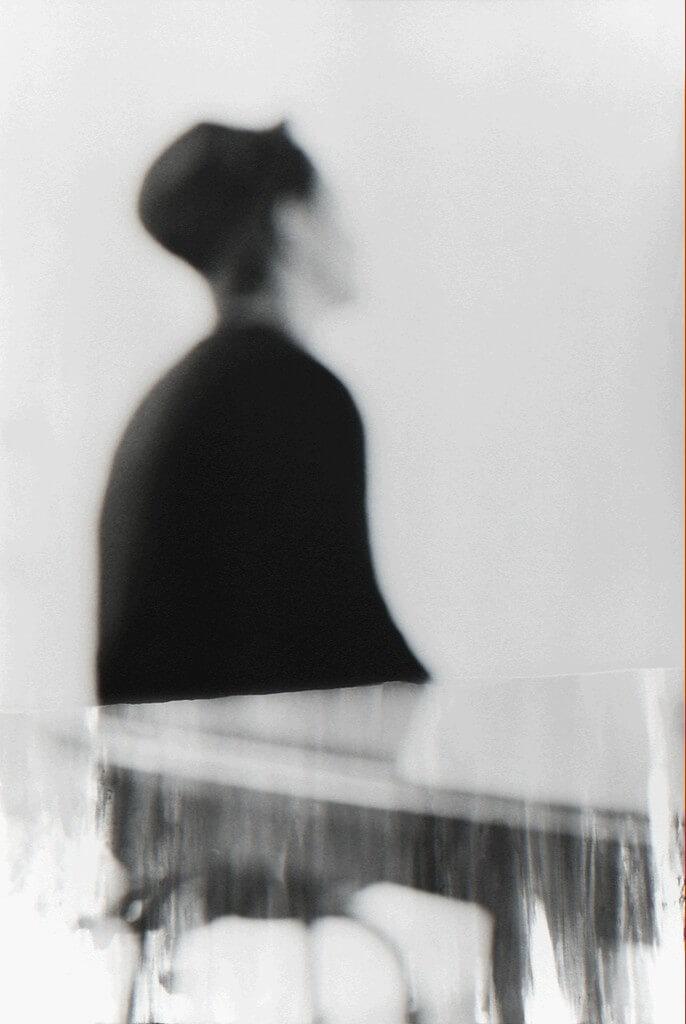 Galerie Benjamin Eck München Analog b/w photograph, photoemulsion